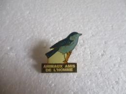 Pin's Animaux Amis De L'homme - Oiseau. - Animals