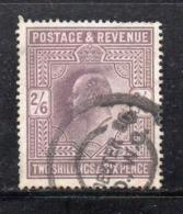 APR1600 - GRAN BRETAGNA 1902 , Edoardo VII Il N. 118 Used - 1902-1951 (Re)