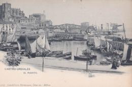 Carte Postale :Castro Urdiales (Espagne)   Rare   Ed  Landaburu  Dos Précurseur - Cantabria (Santander)