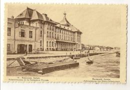 """S7799 - Roumanie Galatz - Administation De La Navigation Fluviale """"au Verso Publicité Chocolat Martougin Anvers"""" - Roumanie"""