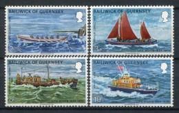 Guernsey 1974. Yvert 84-87 ** MNH. - Guernesey