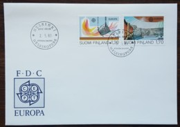 Finlande - FDC 1983 - YT N°890, 891 - Europa / Grandes Oeuvres Du Génie Humain - FDC