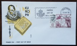 Espagne - FDC 1983 - YT N°2319 - Europa / Grandes Oeuvres Du Génie Humain - FDC
