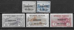Indochine 1919 N°90/94 Neufs * Cote 65 Euros - Indochina (1889-1945)