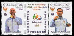 2017Uzbekistan 1187-88Champions Of Olympic Games In Rio De Janeiro5,00 € - Summer 2016: Rio De Janeiro