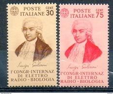 ITALIE (Royaume) - 1934 - N° 344 Et 345 - (1er Congrès International D'électro-radio-biologie) - 1900-44 Victor Emmanuel III.