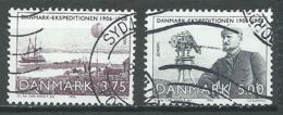 Danemark YT N°1080/1081 Europa 1994 L'Europe Et Les Découvertes Oblitéré ° - 1994