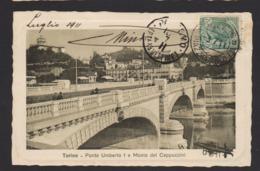 15994 Torino - Ponte Umberto I E Monte Dei Cappuccini R - Bridges