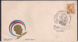 Uruguay - 1974 - FDC - Artigas - Uruguay