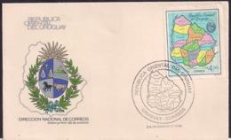 Uruguay - 1984 - FDC - Carte De La République Orientale De L'Uruguay - Uruguay