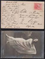 Rumänien Romania 1911 Picture Postcard To OUTJO Deutsch Südwestafrika DSWA Rare Destination - 1881-1918: Charles I