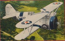 Grumman F3F American Biplane Fighter Aircraft Vliegtuig Avion Airplane USA United States Navy WWII WW2 - 1939-1945: 2ème Guerre