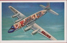 United Airlines 4-engined Mainliner Age Of Flight Aircraft Vliegtuig Avion Airplane USA United States - 1946-....: Era Moderna