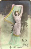 Femme Photo 770 Artiste 1900 Danse Du Voile - Donne