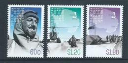 Australian Antarctic Territory 2012 Phillip Law Set 3 MNH - Unused Stamps