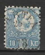HONGRIE 1871 YT N° 4 Obl. - Usati