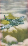 Bi-motored Us Army Plane Vliegtuig Avion Airplane Aircraft (In Very Good Condition) - 1939-1945: 2ème Guerre