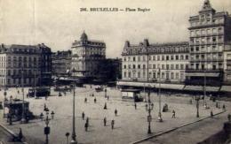 Bruxelles - Place Rogier - Formato Piccolo Viaggiata Mancante Di Affrancatura – E 13 - Belgio