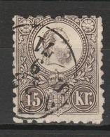 HONGRIE 1871 YT N° 5 Obl. - Hungría