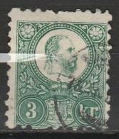 HONGRIE 1871 YT N° 8 Et 9 Obl. - Usati