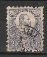 HONGRIE 1871 YT N° 12 Obl. - Hungría