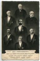 Dos Simple * Les Présidents De La République Française De 1871 ( Thiers ) à 1919 ( Loubet ) Tirage En Taille Douce - Politicians & Soldiers