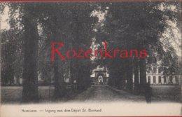 Hemixem Hemiksem Ingang Van Den Depot Van St. Bernard Entree Du ZELDZAAM Armee Belge Military - Hemiksem