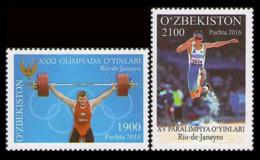 2016Uzbekistan 1151-522016 Olympic Games In Rio De Janeiro 5,40 € - Summer 2016: Rio De Janeiro