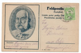 1915  WWI  AUSTRIAN MILITARY CARD, FELDPOST KARTE, TPO SUBOTICA-BAJA-DOMBOVAR NO 144 - Briefe U. Dokumente