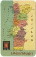 """COMPANHIA De SEGUROS """" PORTUGAL """" - 1963 - Pocket Calendar - Calendars"""
