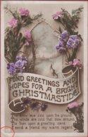 Old Postcard Christmas UK Noel Kerstmis Fantasy Card Carte Fantaisie Fantasiekaart Schwerdfeger (fold) - Kerstmis