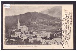 FIESCH - HOTEL GLACIER ET POSTE - TB - VS Wallis