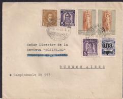 Uruguay - 1948 - Lettre - Uruguay