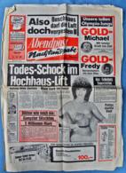 Abendpost Nachtausgabe Vom 1. August 1984 : Todes-Schock Im Hochhaus-Lift - Blüten Wie Noch Nie - Zeitungen & Zeitschriften