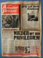 Neue Arbeiter Presse Vom 22. August 1980 : Die Streikbewegung Der Polnischen Arbeiter - Zeitungen & Zeitschriften