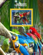 Sierra Leone 2019 Fauna Parrots S201908 - Sierra Leone (1961-...)