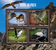 Sierra Leone 2019 Fauna Birds Of Prey S201908 - Sierra Leone (1961-...)