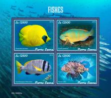Sierra Leone 2019 Fauna Fishes  S201908 - Sierra Leone (1961-...)
