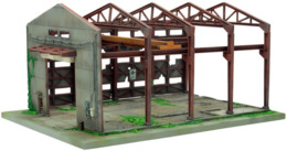 Tomytec Diorama :  Abandonned Building   1/150 ( N Gauge ) - Versieringen