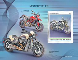 Sierra Leone 2019 Motorcycles   S201908 - Sierra Leone (1961-...)