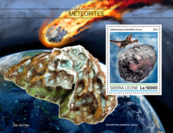 Sierra Leone 2019 Meteorites  S201908 - Sierra Leone (1961-...)