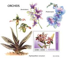 Sierra Leone 2019 Orchids  S201908 - Sierra Leone (1961-...)
