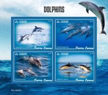 Sierra Leone 2019 Fauna  Dolphins  S201908 - Sierra Leone (1961-...)