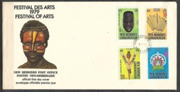 NEW HEBRIDES 1979 FDC FESTIVAL OF ARTS - FDC