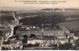 BOULOGNE SUR MER VUE GENERALE DE L'HOSPICE LOUIS DUFLOT TBE - Boulogne Sur Mer
