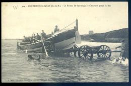 Cpa Du 22  Portrieux St Quay  Le Bateau De Sauvetage Le Chauchard Prend La Mer    LZ132 - Saint-Quay-Portrieux