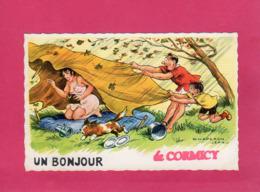 51 Marne, Rare, Un Bonjour De Cormicy, Illustration Chaperon Jean, (G. Picard) - Francia