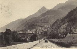 Route De CAUTERETS à PIERREFITE Le Viscos Et Hameau De Cancerié Belle Voiture Ancienne RV - Frankreich