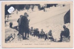 VD- LEYSIN- LUGE- COURSE D ENFANTS - VD Vaud