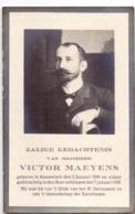 Devotie - Doodsprentje Overlijden - Victor Maeyens - Knesselare 1868 - 1928 - Avvisi Di Necrologio